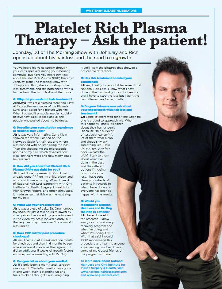 PRP - Ask the Patient Article